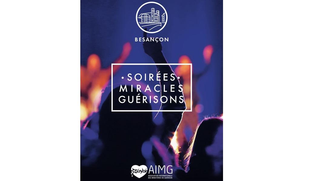 SOIREE MIRACLES ET GUERISONS